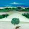 1969, Bhupen Khakhar : Landscape with canon