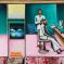 1973, Bhupen Khakhar : Barbers shop