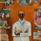1975-76, Bhupen Khakhar : Man with Plastic Flowers