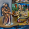 1982, Bhupen Khakhar : Two Men in Benares - (1,6 x 1,6 m) - 3,3 millions de $ en 2019