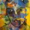 1985, Bhupen Khakhar : Landscaping on face
