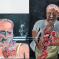2001, Bhupen Khakhar : Bullet Shot in the Stomach