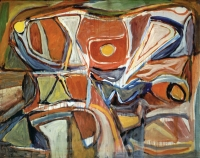 1956, Bram van Velde : Peinture