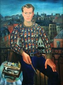 1927, Christopher Wood : Autoportrait