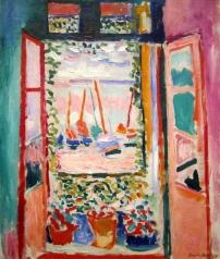 1905_Henri Matisse_La fenêtre ouverte à Collioure