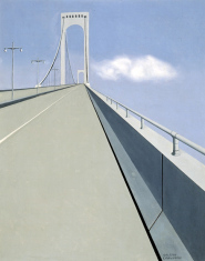1939-40, Ralston Crawford : Whitestone Bridge