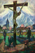 1924_Hans Eder_Crucifixion at the Outskirts of the Village