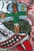 1985_Robert Combas_Le crucifié par les gueuleurs