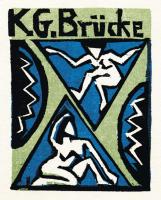 1912, Erich Heckel : K.G.Brücke in der Galerie Fritz Gurlitt, Berlin