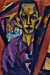 1914, Ernst Ludwig Kirchner : Autoportrait