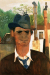 1938_Felix-Nussbaum_Self-Portrait-in-a-Hat