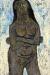 1953, Francis Newton Souza : Sans-titre (Femme aux bras croisés)