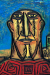 1958, Francis Newton Souza : Head in a Landscape