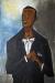 1958, Francis Newton Souza : Portrait de Peter Pears