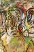 1962, Francis Newton Souza : Three Men In A Drunken Haze
