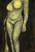 1963, Francis Newton Souza : Girl with the silken whip