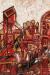 1963, Francis Newton Souza : Red landscape