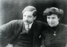 1910, Francis Picabia et Gabrielle Buffet