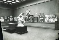 1913, Armory Show, salle dévolue au cubisme