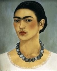1933, Frida Kahlo : Autoportrait avec collier
