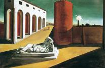 1913, Giorgio de Chirico : Les joies et les énigmes d'une heure étrange