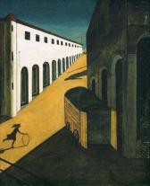 1914, Giorgio de Chirico : Melancolia e Mistério de Uma Rua