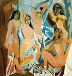 1907, Pablo Picasso : Les Demoiselles d'Avignon