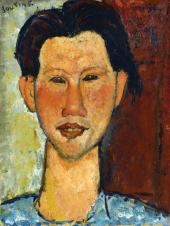 1915, Amedeo Modigliani : Portrait de Chaïm Soutine