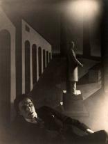 1922, Man Ray : André Breton devant L'énigme d'une journée de Giorgio De Chirico
