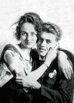 1922, René Magritte et sa femme Georgette Berger