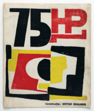 1924, Victor-Brauner : Couverture de la revue Dada, 75 H.P.