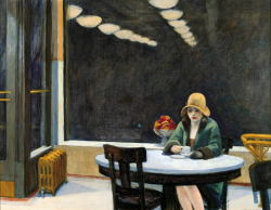 1927, Edward Hopper : Automat