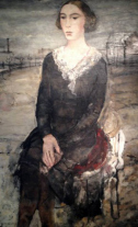 1930, Paul Delvaux : Tam (Anne-Marie de Maertelaere)