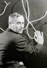 1930, Man Ray : Portrait de Joan Miró (©  Man Ray Trust / ADAGP)