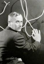 1930, Man Ray : Portrait de Joan Miró (©  Man Ray Trust / ADAGP)