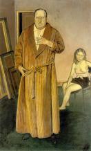 1936, Balthus : Portrait d'André Derain