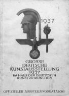 1937, affiche de la Grosse deutsche kunstausstellung, Munich