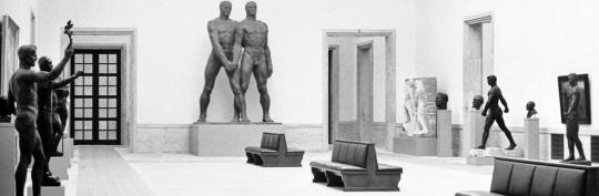 1937, Munich, vue d'une salle de la Grossen Deutschen Kunstausstellung