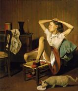 1938, Baltus : Thérèse rêvant