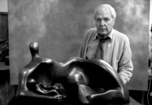 1951, Henry Moore (© Rex Features)