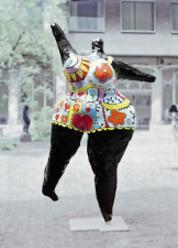 1968, Niki de Saint Phalle : Black nana