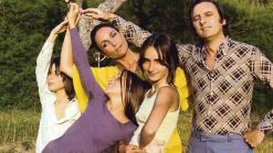 Paula Rego, Victor Willing et leurs 3 enfants en 1970