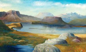 Kristinn Morthens (Islande) : Úr Hvalfirðinum