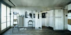 Le studio d'Edward Krasiński à Varsovie