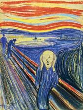 1895, Edvard Munch : Le cri
