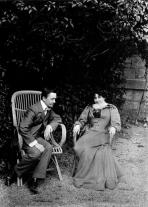 1899, Félix et Gabrielle Vallotton à Lausanne