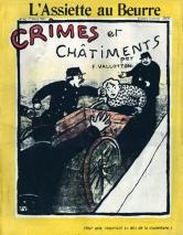 1902, Félix Vallotton : Crimes et châtiments, frontispice