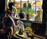 1912, Jean Puy : Dans le studio