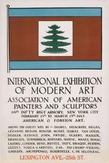 1913, affiche de l'Armory Show