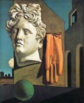 1914, Giorgio De Chirico : Chant d'amour